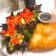Halibut-and-Salad